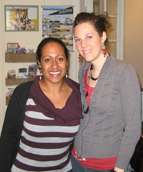 Francie and I in Baluch Backpackers