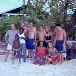 group on Roatan, Bay Islands