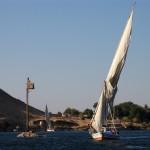 Feluca, Aswan