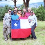 Alpha dos and the Chilean flag