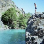 gorge jumping