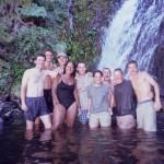 A2 climbing waterfalls