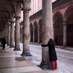 Shireen in the Porticos